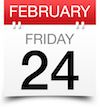 Friday February 24