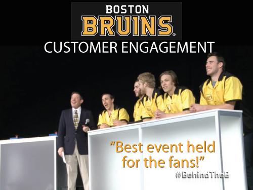 Customer Engagement for the Boston Bruins