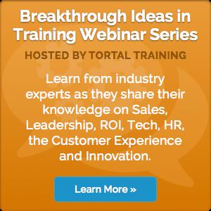 Breakthrough Ideas in Training Webinar Series, featuring Rick Cram