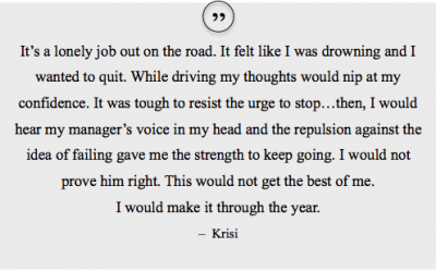 Which Leadership Strategies Do You Recognize in Krisi's Story?