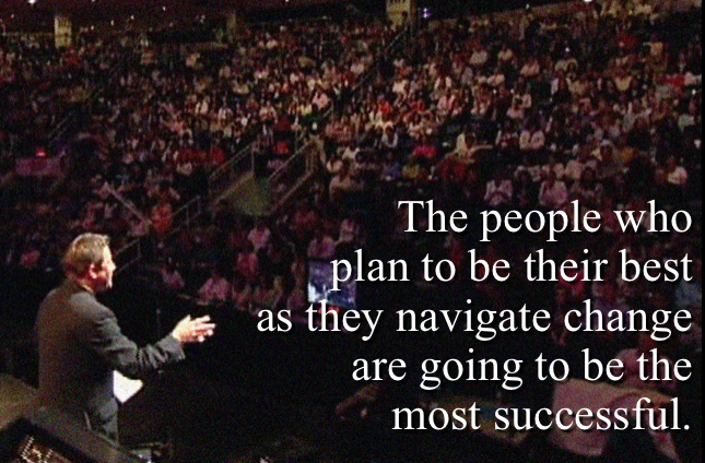 The people who plan to be their best as they navigate change are going to be the most successful. - Rick Cram