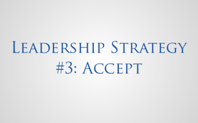 Leadership Strategy Accept